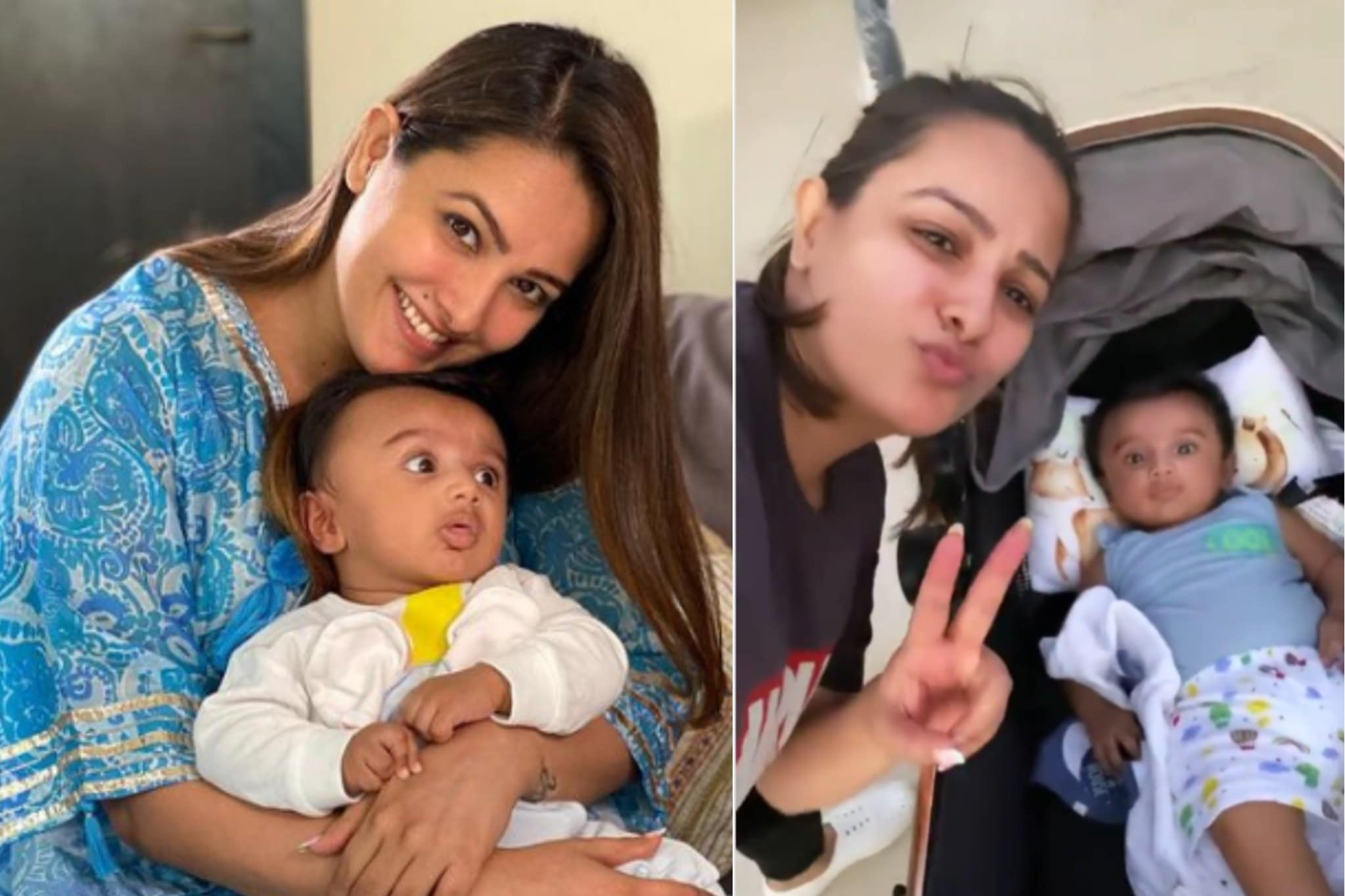 This Is How Anita Hassanandani Manages Her Workout Routine With Baby Aaravv; VIDEO -