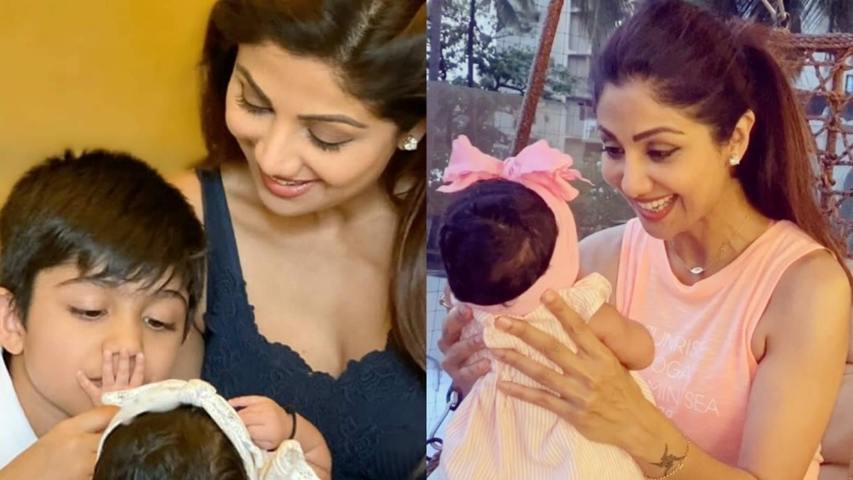 Shilpa Shetty treats fans with adorable photo of daughter Samisha as she turns 3 months old | Celebrities News – India TV