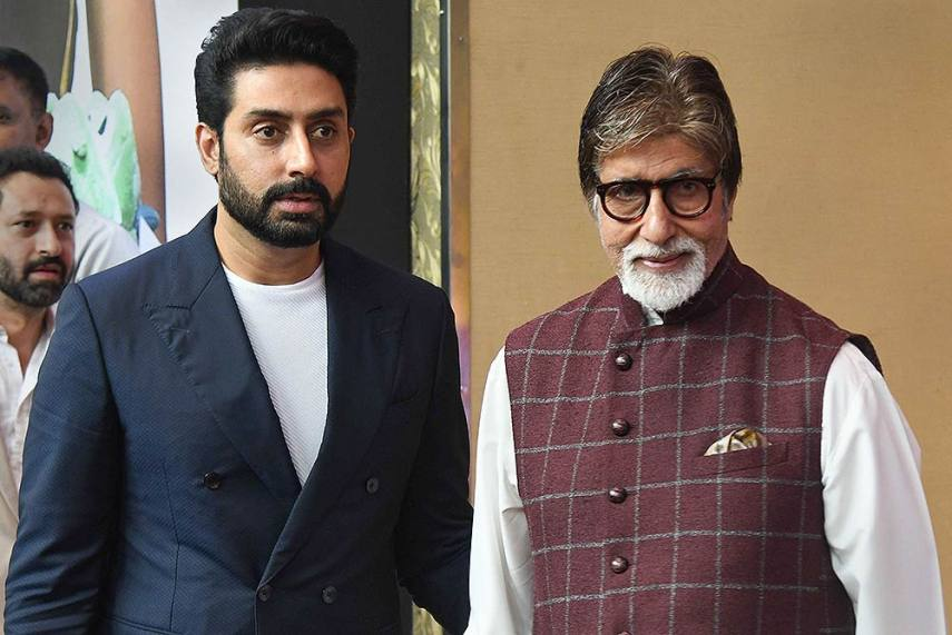 Image result for amitabh andઅભિષેક