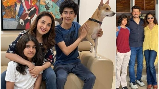 Madhuri Dixit wishes son Ryan on his 16th birthday: 'You fill my heart with  joy & pride', Don't miss his hairstyle   Bollywood - Hindustan Times